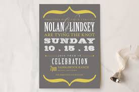 wedding invitations okc bold brackets wedding invitations by teresa lang minted