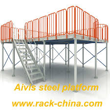 Aivis Rack Factory Mezzanine Floor Steel Platform Buy Steel