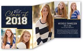 tri fold graduation announcements lifted grad 5x7 tri fold graduation announcements cards shutterfly