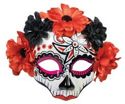 day of the dead masks day of the dead skull mask accessories makeup