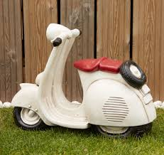 vespa lambretta scooter large garden ornament s s shop