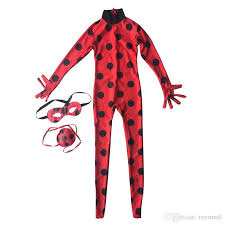 eye pattern clothes ladybug big girl clothes ready cartoon costumes dress up halloween