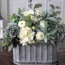 hydrangea centerpiece beautiful blue and white hydrangea centerpiece flower
