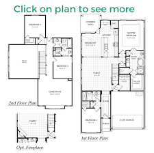 floor plans for homes two story gentry plan
