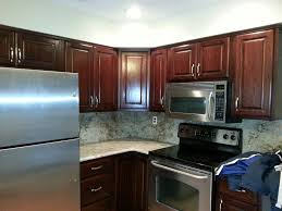 changing kitchen cabinet stain color kitchen decoration