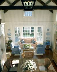 Marthas Vineyard Traditional Coastal Home Home Bunch  Interior - Traditional family room design ideas
