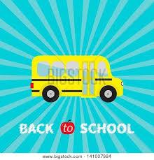 Starburst Design Clip Art Yellow Bus Kids Cartoon Clipart Transportation Baby