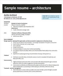 Sample Resume Of An Architect by 37 Engineering Resume Examples Free U0026 Premium Templates