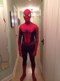 got my costume spiderman