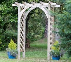 Diamond Trellis Panels Horizon Garden Arch Gardensite Co Uk