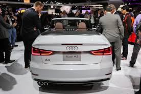 audi a3 cabrio makes official debut at los angeles show motor