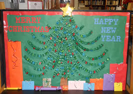Bulletin Board Christmas Tree