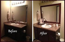 Diy Bathroom Mirror Ideas Bathroom Interior Bathroom Mirror Frame Diy Picture Frames