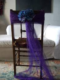 how to make chair sashes shows you how to decorate chairs backs with tulle here comes the
