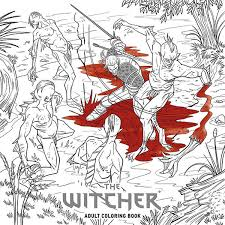 The Witcher Adult Coloring Book Tpb Profile Dark Horse Comics Colouring Book