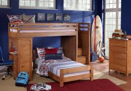 creekside taffy twin twin step bunk bed with desk bunk loft beds