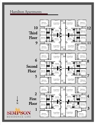 vanderbilt housing floor plans housing options
