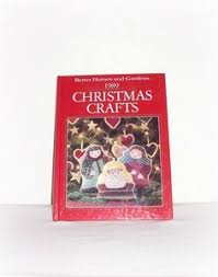 Better Homes And Gardens Christmas Crafts - american country christmas book oxmoor house 1990 vintage crafts