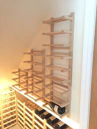 hutten wall mounted side on wine racking ikea hackers ikea hackers