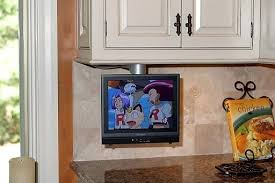 under the counter tv for kitchen with mount u0026 dvd