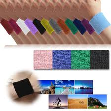 sweat bands soft cotton sweatbands wristbands wrist sweat bands workout