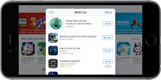 wish list app how to use wish list to track ios apps and