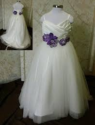 purple to lavender dresses for juniors and flower girls