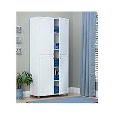 2 Door Pantry Cabinet Amazon Com White 36 Inch 2 Door Storage Cabinet Kitchen Pantry
