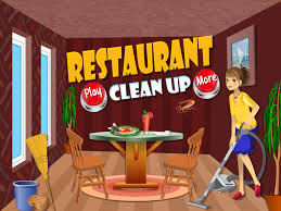 Room Makeover Game Restaurant Clean Up Kids Dirty Room Cleaning Decoration And