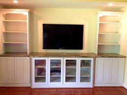 Desk In Living Room by Bathroom Entrancing Custom Built Wall Units Made Desk In Around