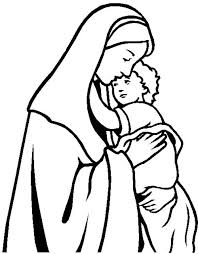 mary and elizabeth coloring pages funycoloring