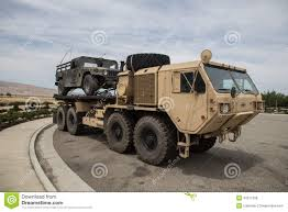 tactical truck milatary heavy expanded mobility tactical truck editorial stock