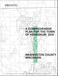 Map Of Southeastern Wisconsin by Comprehensive Plan Town Of Kewaskum Washington County Wisconsin