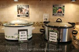 Hunting Home Decor Camouflage Hunting Theme Party Fun Happy And Blessed Home
