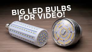 Infinity Led Light Bulbs by Led Bulbs For Video And Photo Lights Youtube