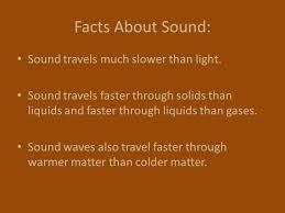 What Travels Faster Light Or Sound Electromagnetic Energy Light Is An Example Of A Transverse Wave