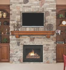 fireplace creative decorating fireplace mantel with tv above