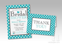 bridal shower invitations bridal shower invitations and thank you