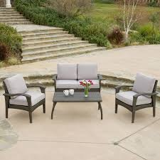 voyage outdoor 4pc grey wicker sofa set wicker sofa and products