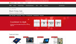 microsoft black friday sales 10 cyber monday black friday landing u0026 pricing page critiques