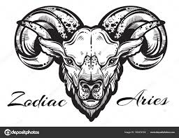 beautiful artwork of a ram high detailed linear style
