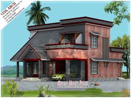 Kerala Home Design Flat Roof Elevation by Kerala Home Designs And Elevation