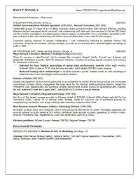 Channel Sales Manager Resume Sample by Software Sales Resume Example