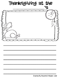 thanksgiving with the tappleton s writing response paper freebie
