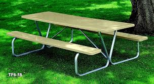 tables benches l a steelcraft