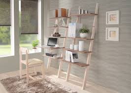 furniture exciting black wood leaning bookcase on cozy lowes wood