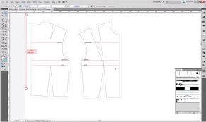 pattern drawing illustrator pattern cutting a basic bodice block ralph pink com