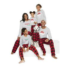 pole trading co checkin it family pajamas jcpenney