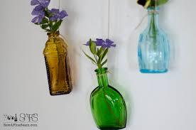 Blue Flower Vases Flower Vase Made Of Tiny Bottles Sew A Fine Seam