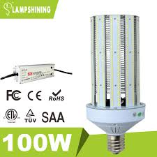 100 watt post top retrofit led corn light bulbs replacement 400w
